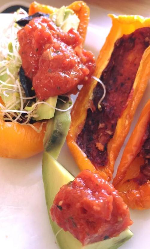 chinese saus - mango rozemarijn pomodori kersentomaat gedroogdtomaat dadel blog