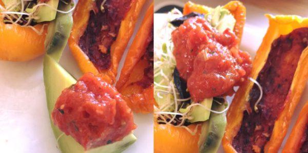 chinese saus - mango rozemarijn pomodori kersentomaat gedroogdtomaat dadel blog samen